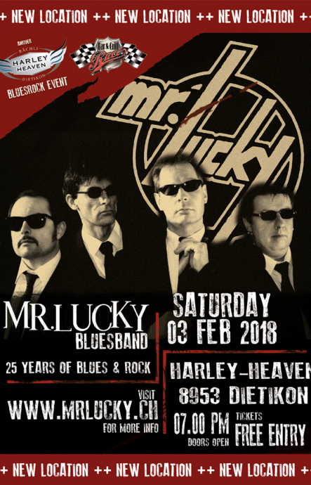 MR.LUCKY in concert